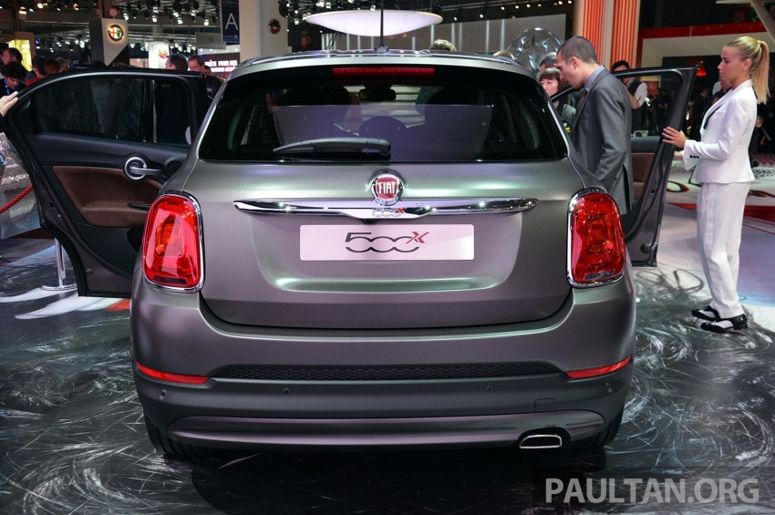 Fiat 500X mini crossover officially unveiled in Paris Image #277829