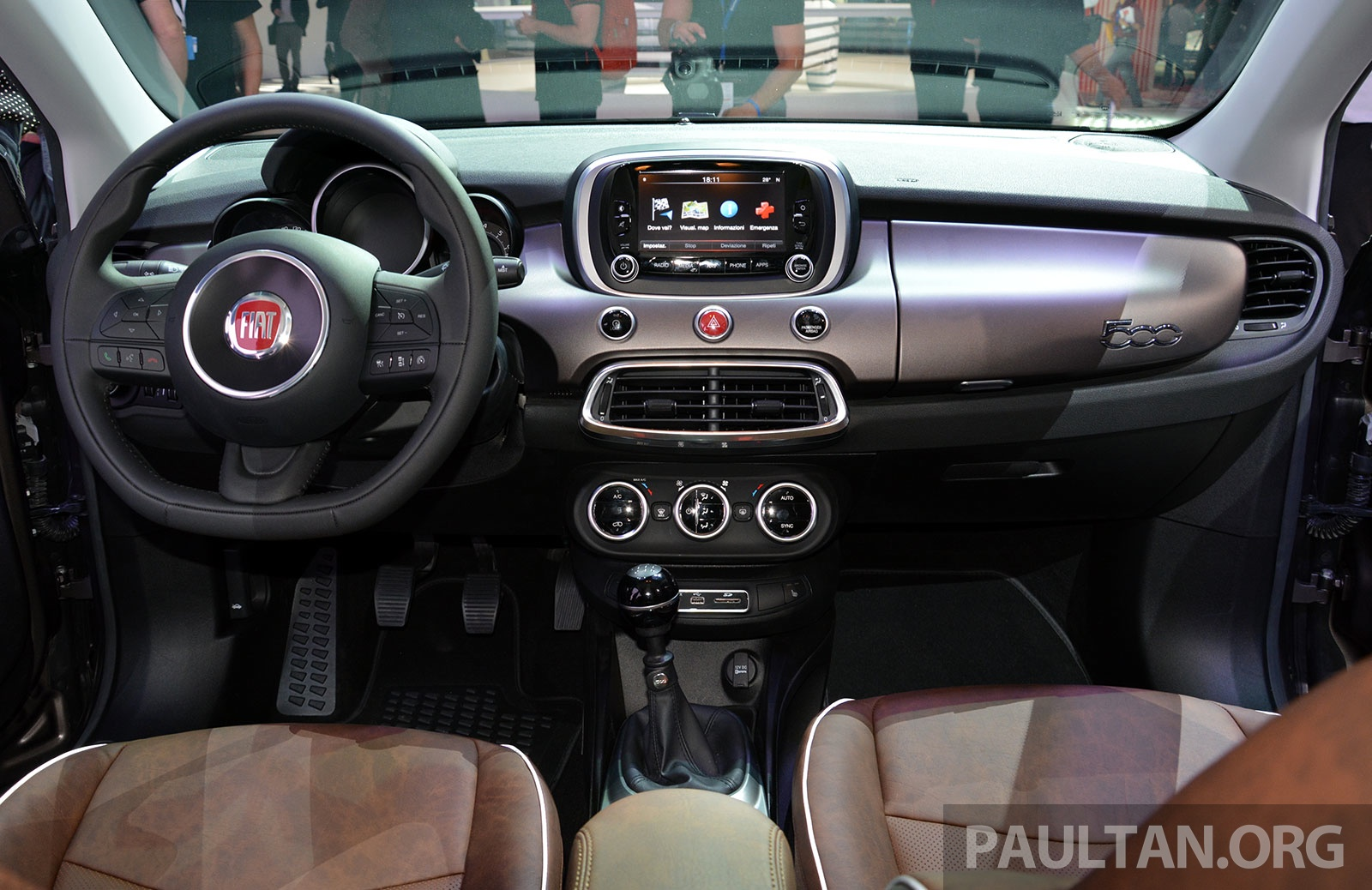 Fiat 500x mini crossover officially unveiled in paris for 500x interior
