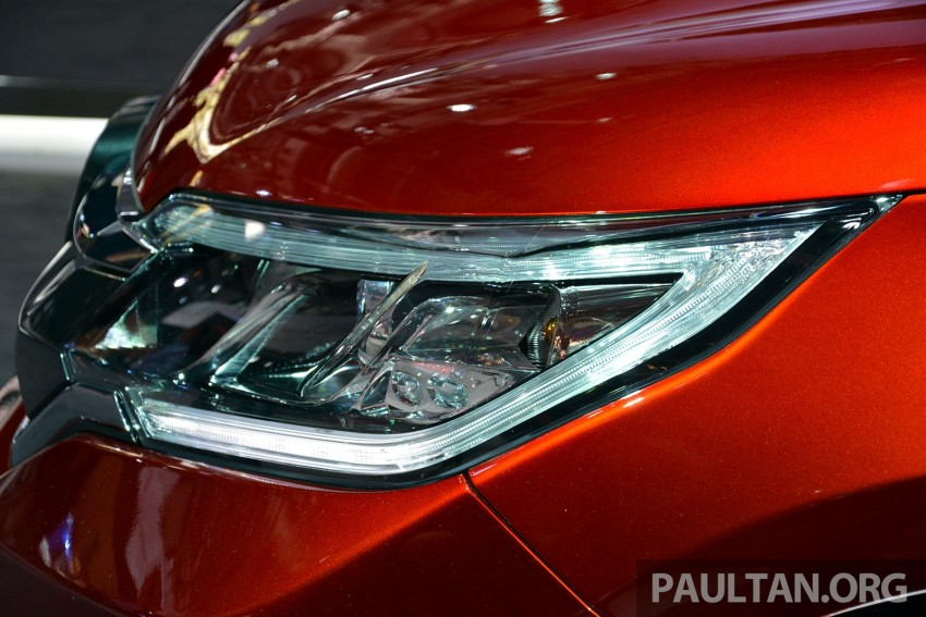 Honda CR-V European facelift – live images from Paris Image #278474