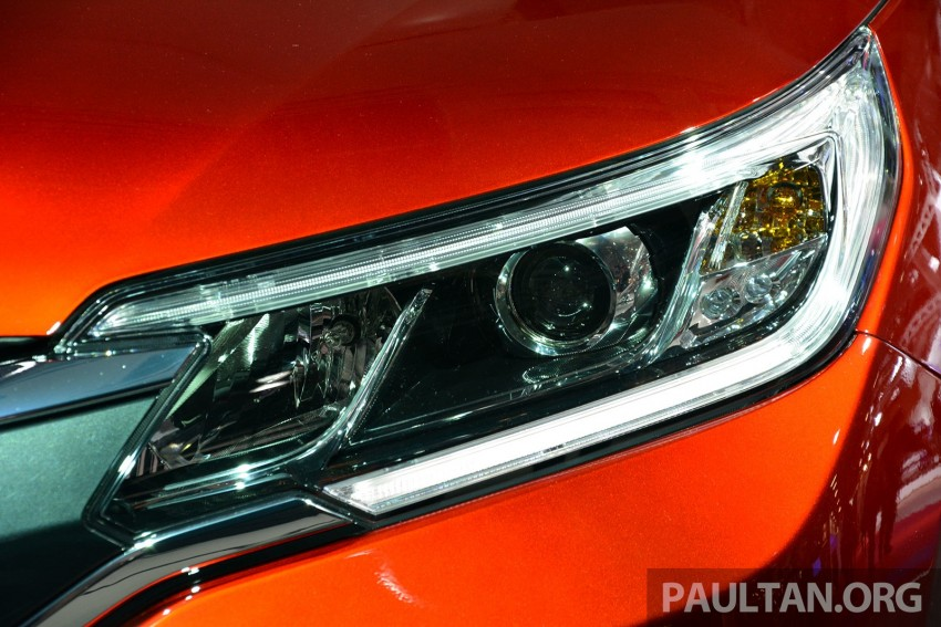 Honda CR-V European facelift – live images from Paris Image #278477