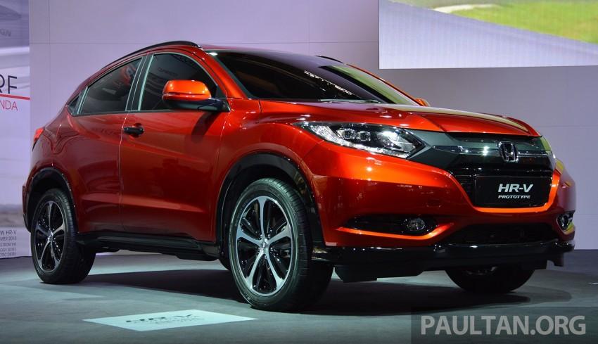 Paris 2014: European Honda HR-V looking good in red Image #277900