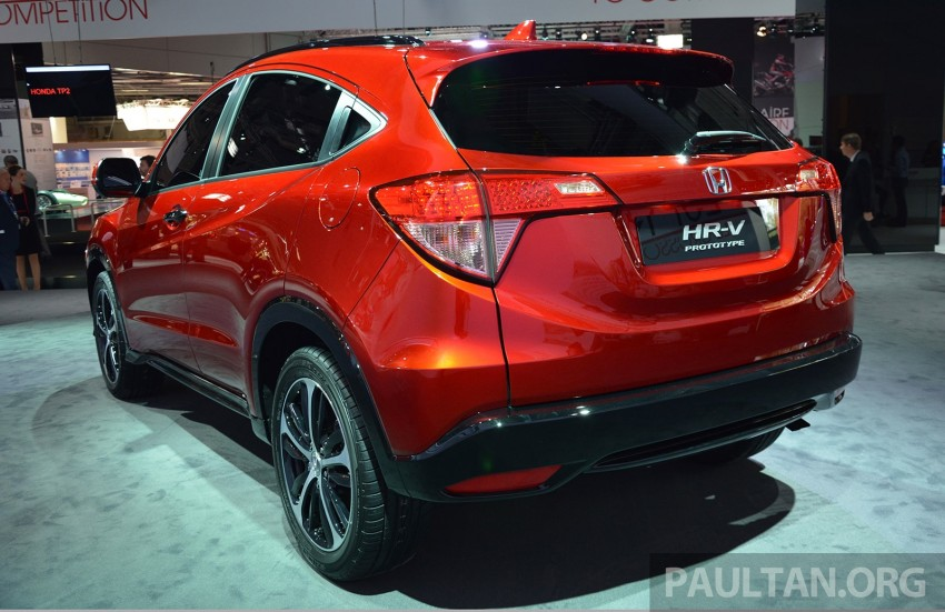 Paris 2014: European Honda HR-V looking good in red Image #277905