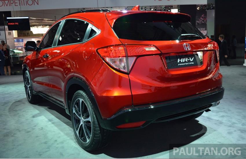 Paris 2014: European Honda HR-V looking good in red Image #277905