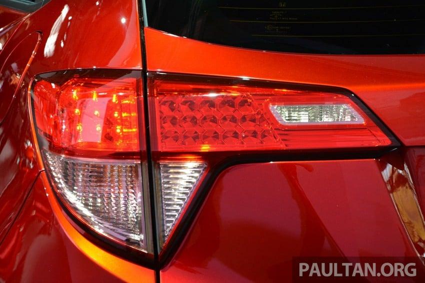 Paris 2014: European Honda HR-V looking good in red Image #277906