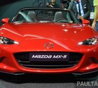Paris 2014 Mazda MX-5 4