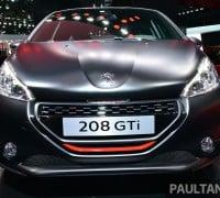 Paris 2014 Peugeot 208 GTI 30th 14