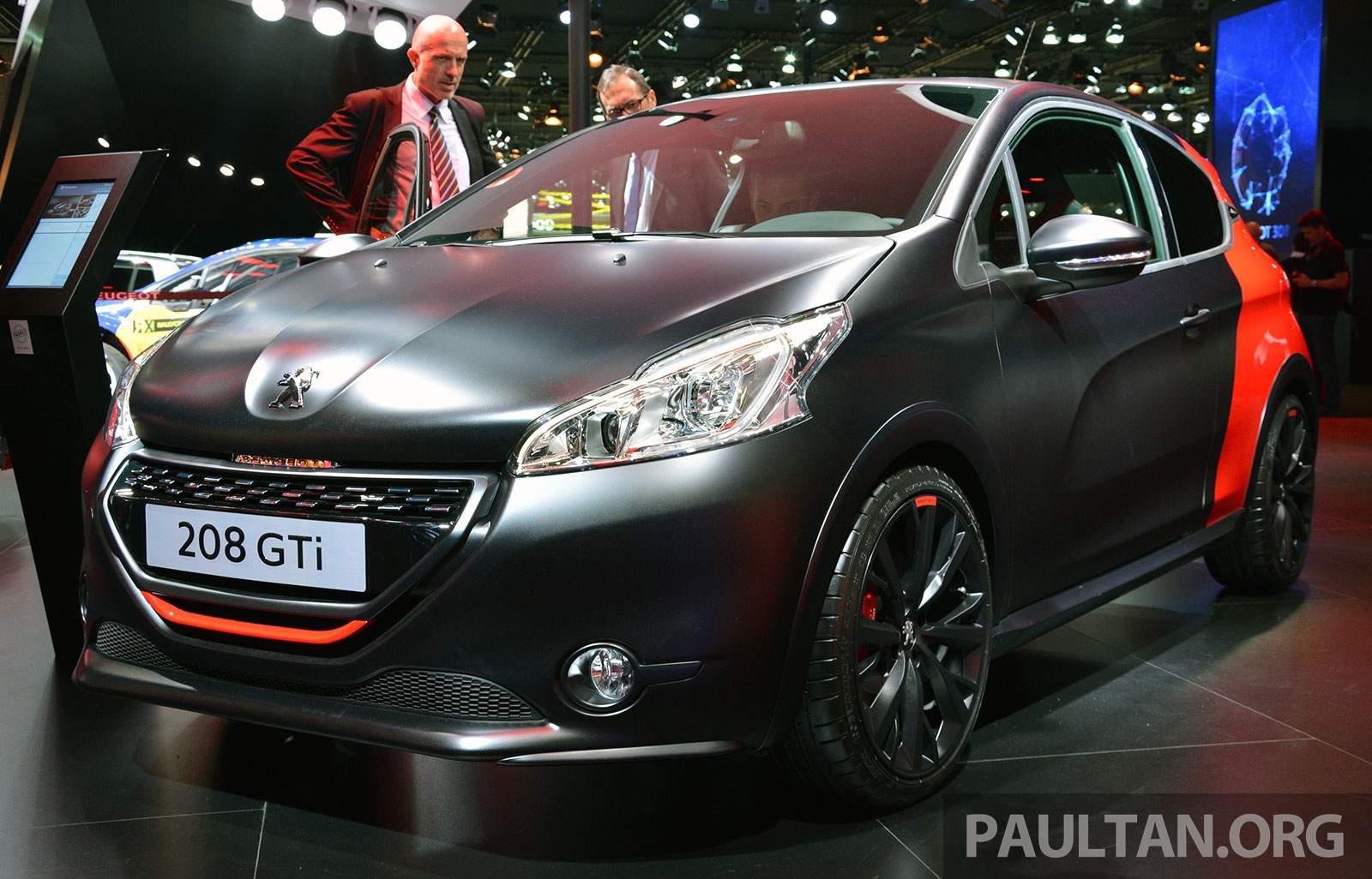 paris 2014 peugeot 208 gti 30th anniversary edition image. Black Bedroom Furniture Sets. Home Design Ideas
