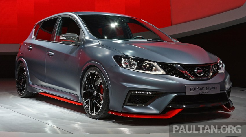 Nissan Pulsar Nismo Concept unveiled at Paris show – one step closer to taking on the Golf GTI Image #277856