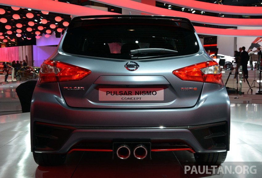 Nissan Pulsar Nismo Concept unveiled at Paris show – one step closer to taking on the Golf GTI Image #277848
