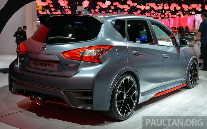 Nissan Pulsar Nismo Concept unveiled at Paris show – one step closer to taking on the Golf GTI Image #277849