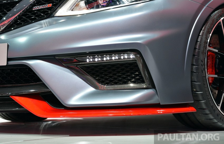 Nissan Pulsar Nismo Concept unveiled at Paris show – one step closer to taking on the Golf GTI Image #277853
