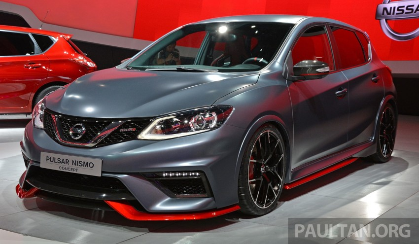 Nissan Pulsar Nismo Concept unveiled at Paris show – one step closer to taking on the Golf GTI Image #277854