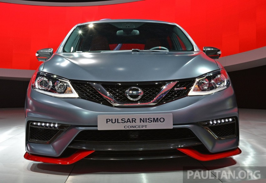 Nissan Pulsar Nismo Concept unveiled at Paris show – one step closer to taking on the Golf GTI Image #277855