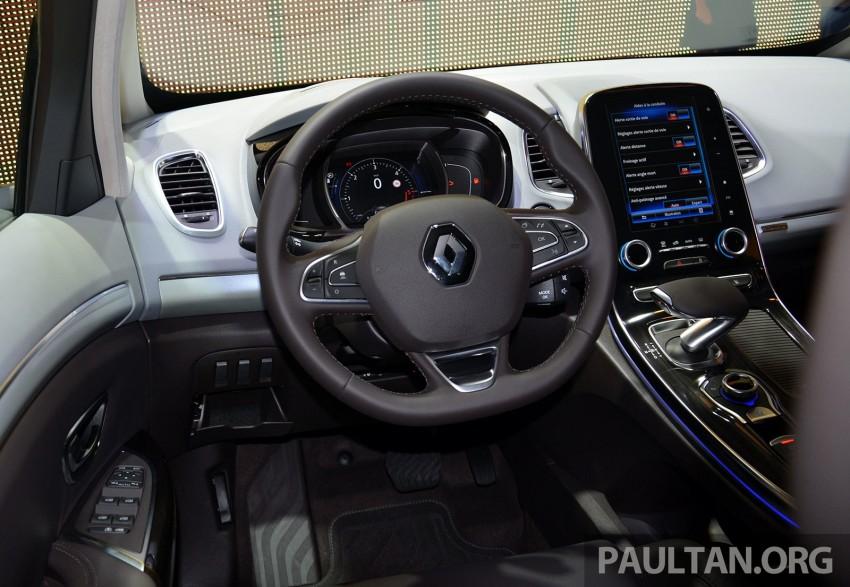Paris 2014: New Renault Espace snapped before unveil Image #277235
