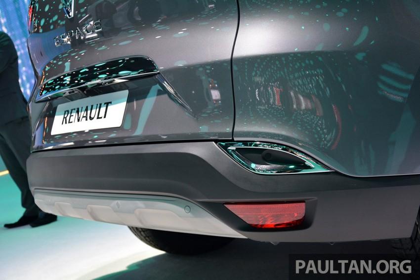 Paris 2014: New Renault Espace snapped before unveil Image #277245