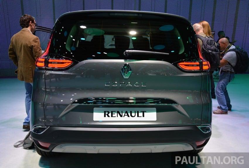 Paris 2014: New Renault Espace snapped before unveil Image #277246