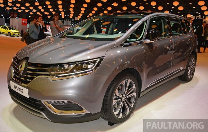 Paris 2014: New Renault Espace snapped before unveil Image #277251