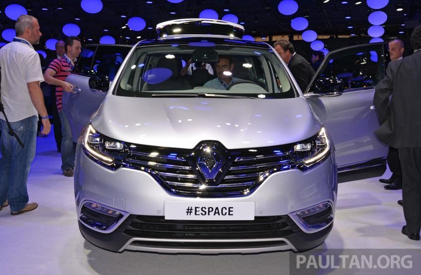 Paris 2014: New Renault Espace snapped before unveil Image #277252