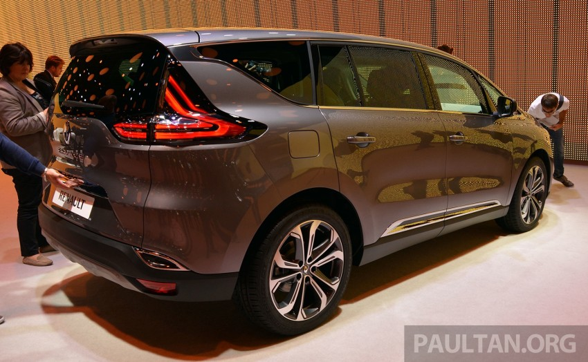Paris 2014: New Renault Espace snapped before unveil Image #277236