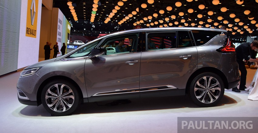 Paris 2014: New Renault Espace snapped before unveil Image #277254