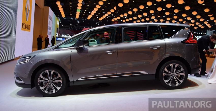 Paris 2014: New Renault Espace snapped before unveil Image #277254