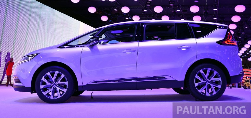 Paris 2014: New Renault Espace snapped before unveil Image #277509