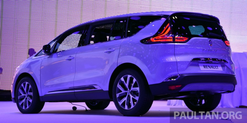 Paris 2014: New Renault Espace snapped before unveil Image #277510