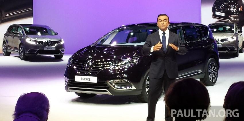Paris 2014: New Renault Espace snapped before unveil Image #277530