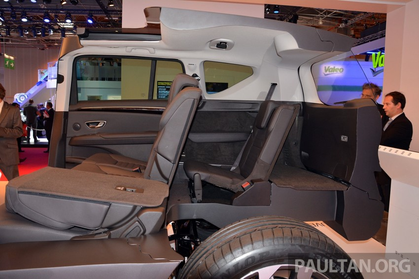 Paris 2014: New Renault Espace snapped before unveil Image #278679