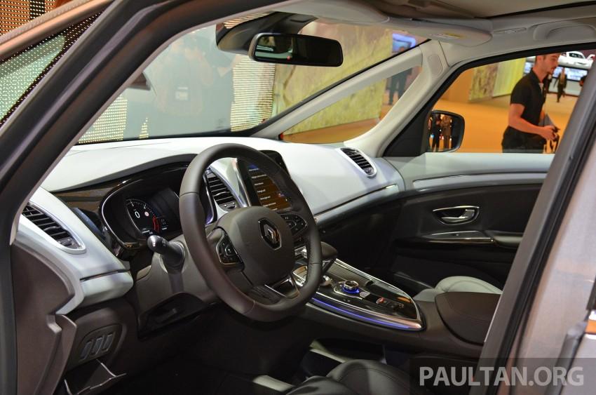 Paris 2014: New Renault Espace snapped before unveil Image #277238