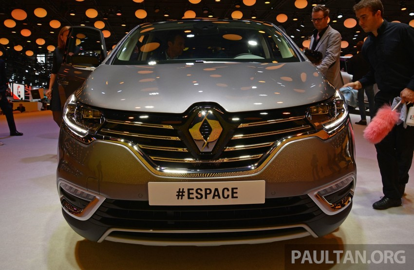 Paris 2014: New Renault Espace snapped before unveil Image #277241
