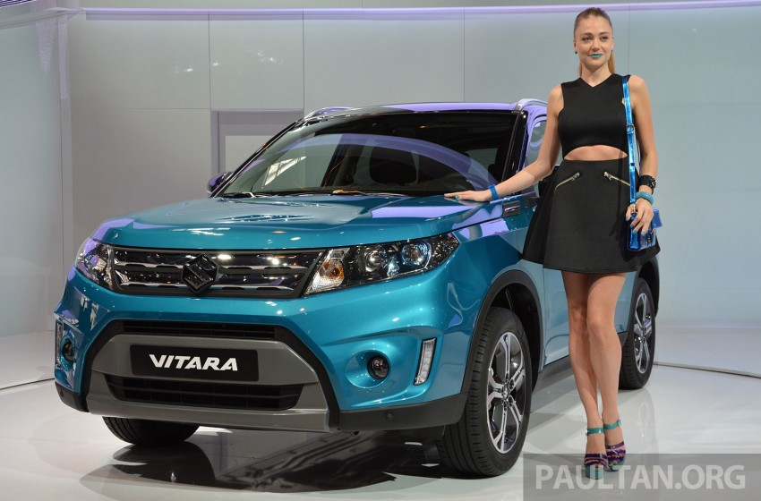 Suzuki Vitara – B-segment SUV fully unveiled in Paris Image #277865