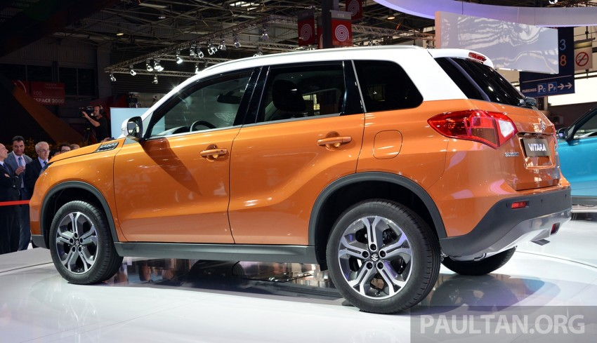 Suzuki Vitara – B-segment SUV fully unveiled in Paris Image #277874