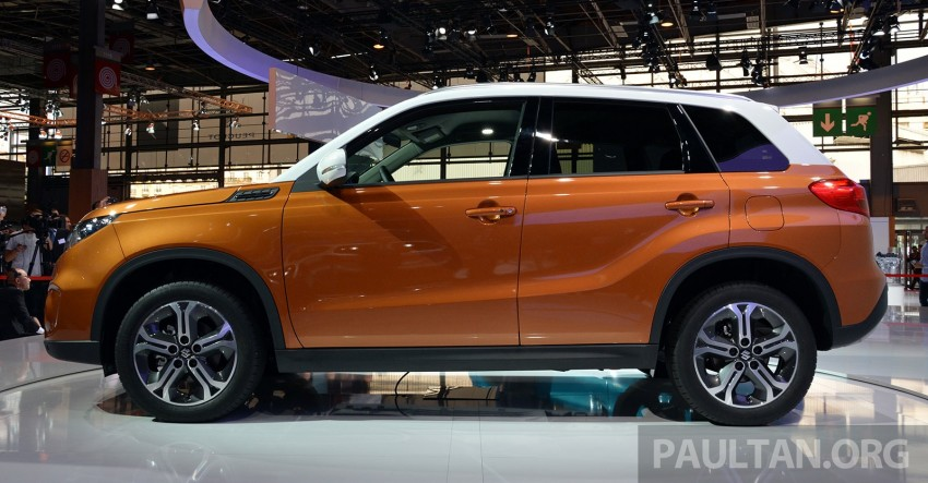 Suzuki Vitara – B-segment SUV fully unveiled in Paris Image #277875