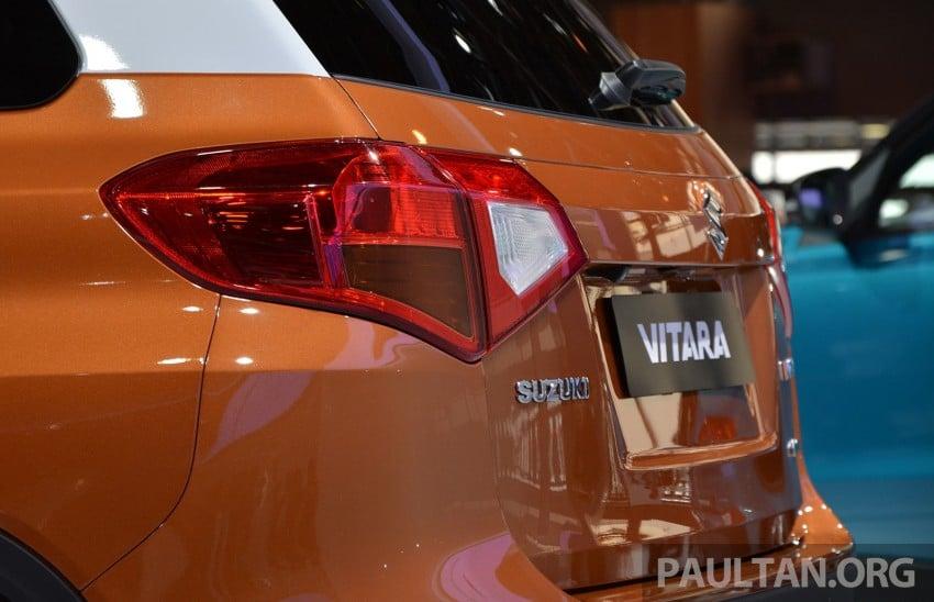 Suzuki Vitara – B-segment SUV fully unveiled in Paris Image #277876