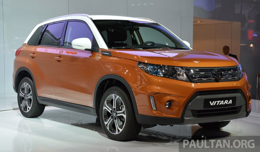 Suzuki Vitara – B-segment SUV fully unveiled in Paris Image #277877