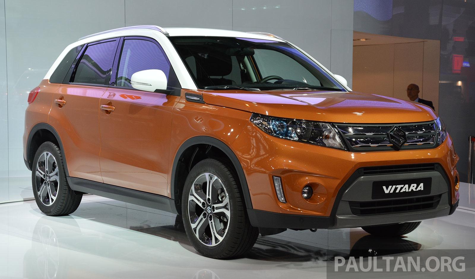 Suzuki Vitara B Segment Suv Fully Unveiled In Paris