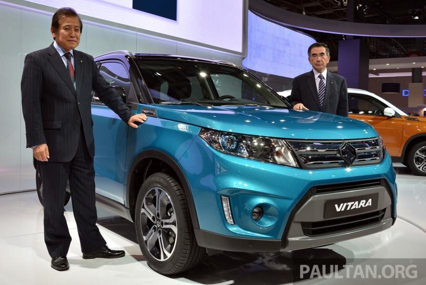 Suzuki Vitara – B-segment SUV fully unveiled in Paris Image #277878