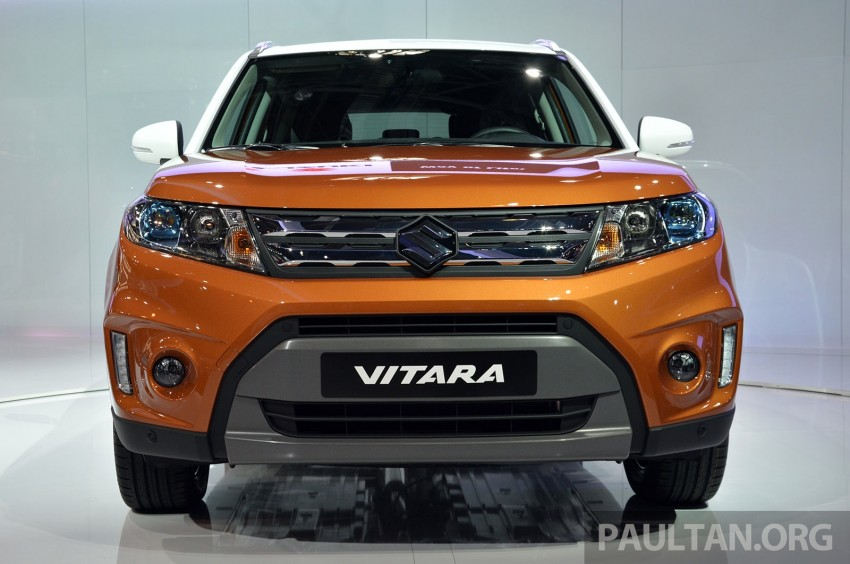 Suzuki Vitara – B-segment SUV fully unveiled in Paris Image #277879