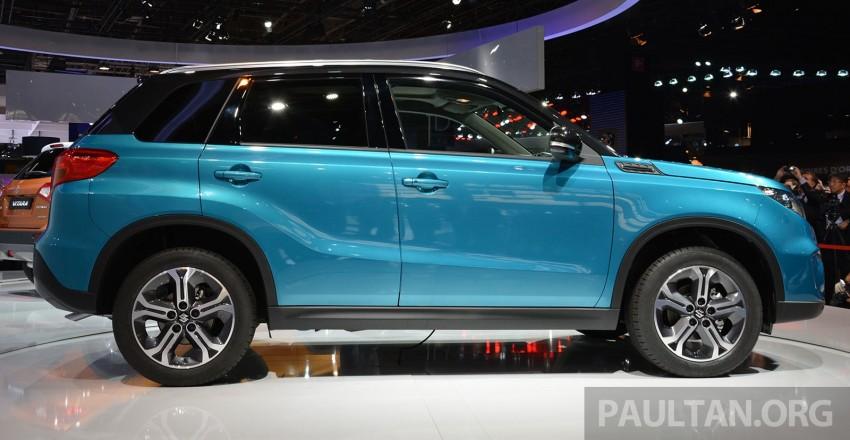 Suzuki Vitara – B-segment SUV fully unveiled in Paris Image #277880