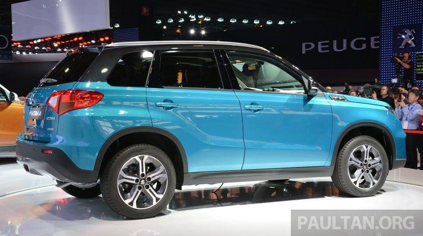 Suzuki Vitara – B-segment SUV fully unveiled in Paris Image #277882