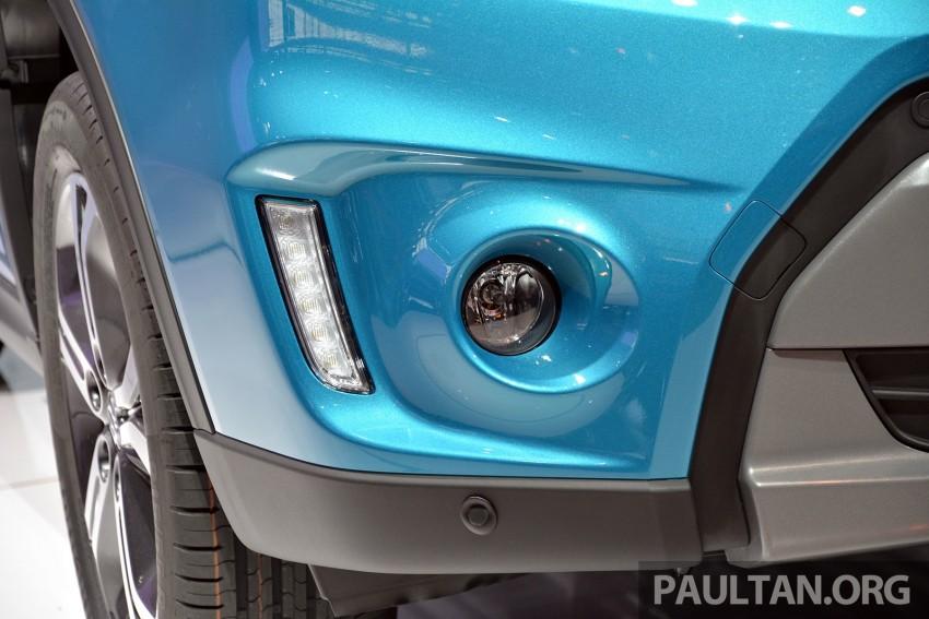 Suzuki Vitara – B-segment SUV fully unveiled in Paris Image #277883