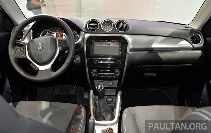 Suzuki Vitara – B-segment SUV fully unveiled in Paris Image #277866