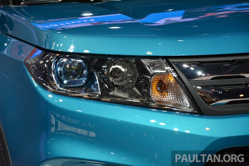 Suzuki Vitara – B-segment SUV fully unveiled in Paris Image #277884