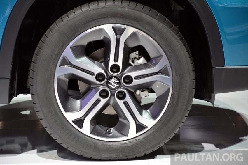 Suzuki Vitara – B-segment SUV fully unveiled in Paris Image #277885
