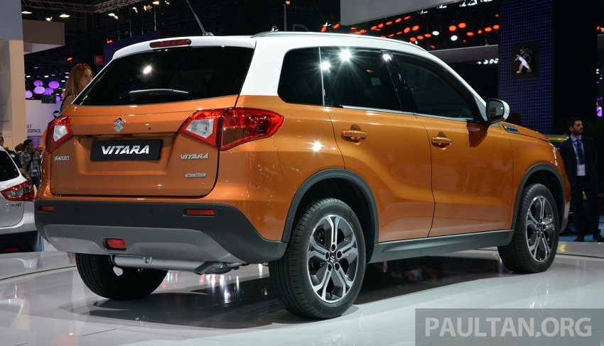 Suzuki Vitara – B-segment SUV fully unveiled in Paris Image #277871