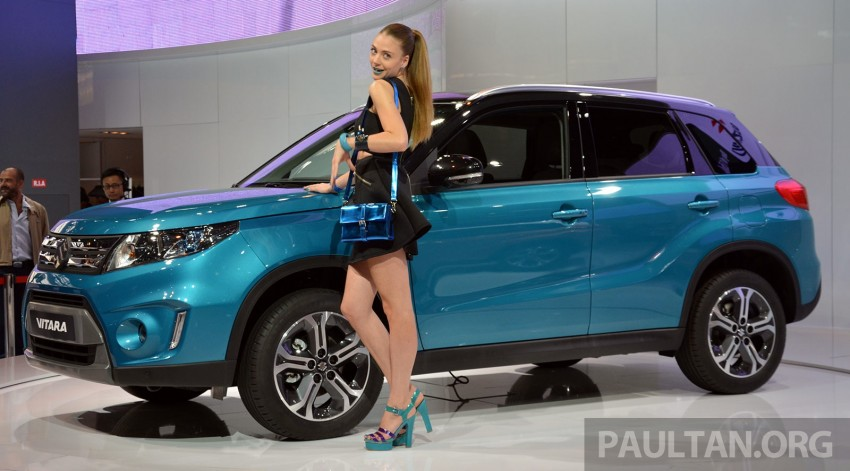 Suzuki Vitara – B-segment SUV fully unveiled in Paris Image #277872