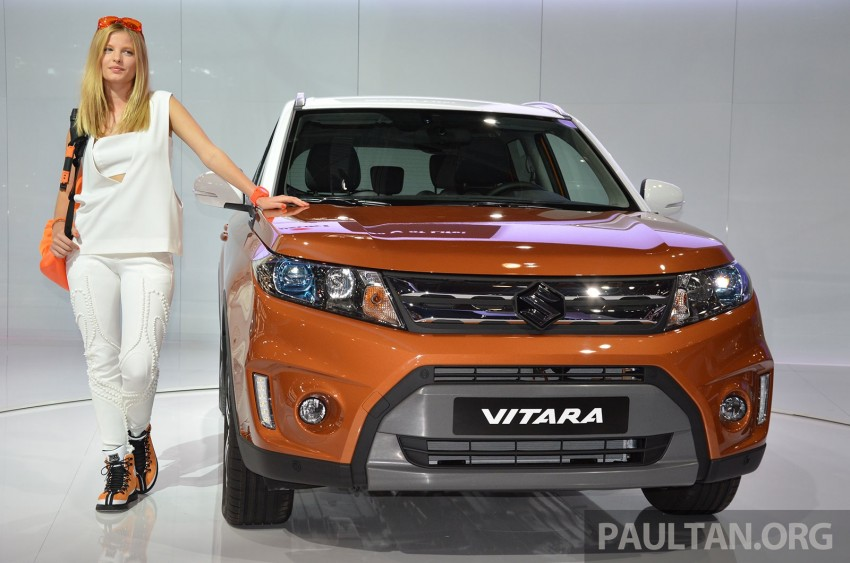 Suzuki Vitara – B-segment SUV fully unveiled in Paris Image #277873