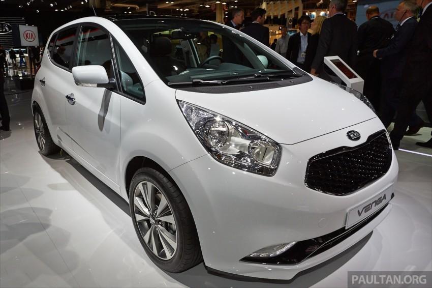 Kia Venga – B-segment MPV gets facelift, Paris debut Image #278033