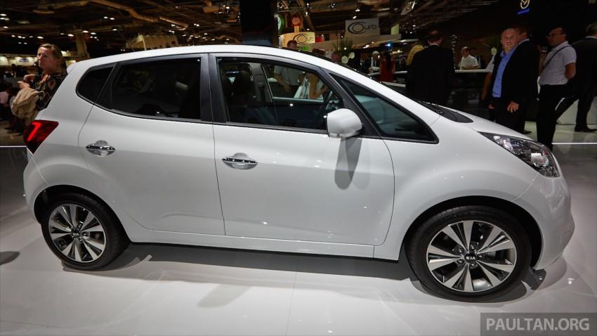 Kia Venga – B-segment MPV gets facelift, Paris debut Image #278034